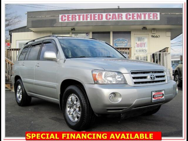 2004 Toyota Highlander V6 WITH 3RD ROW SEAT