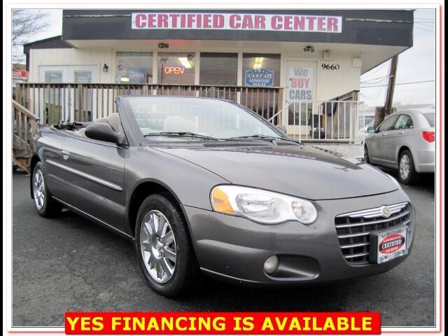 2005 Chrysler Sebring Limited Convertible