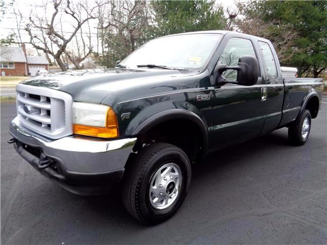 2001 Ford F-250 SD XL SuperCab Long Bed 4WD
