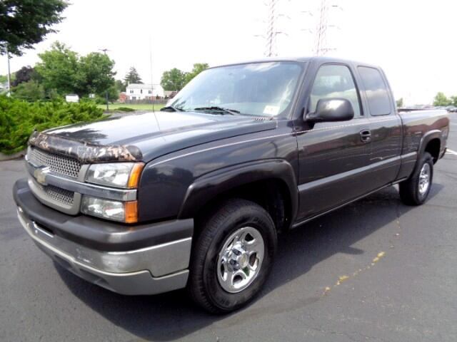 2004 Chevrolet Silverado 1500 Work Truck Ext. Cab Long Bed 4WD