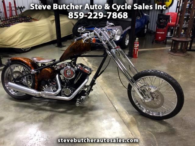 2009 Brass Balls Cycles Retro Chopper X
