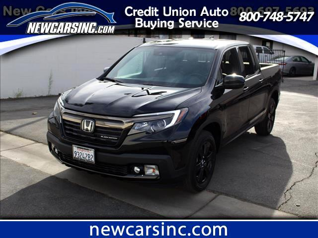 2017 Honda Ridgeline Black Edition AWD
