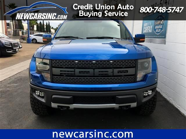 2014 Ford F-150 SVT Raptor SuperCrew 5.5-ft. Bed 4WD