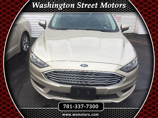 Used 2017 Ford Fusion for Sale in Weymouth, MA 02188 Washington Street Motors