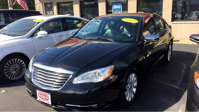 2013 Chrysler 200 4dr Sdn Limited FWD