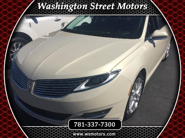 Used 2016 Lincoln MKZ for Sale in Weymouth, MA 02188 Washington Street Motors