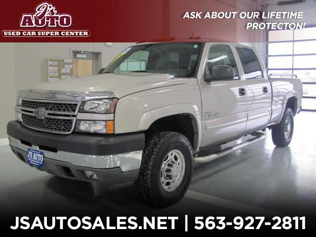 2005 Chevrolet Silverado 2500HD Work Truck Crew Cab Long Bed 4WD
