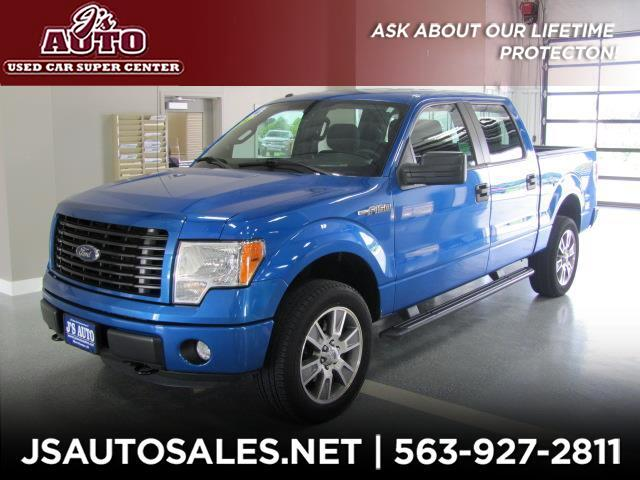 2014 Ford F-150 4WD SuperCab 145