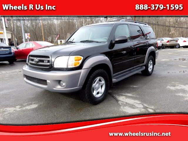used 2002 toyota sequoia sr5 4wd for sale in poughkeepsie. Black Bedroom Furniture Sets. Home Design Ideas