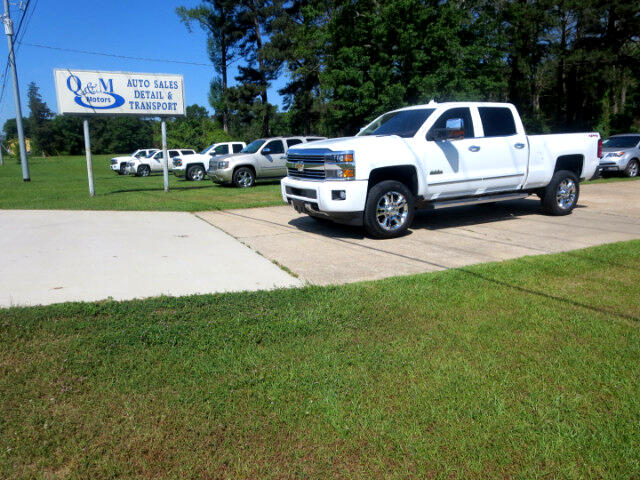 2015 Chevrolet Silverado 2500HD HighCountry Crew 4WD