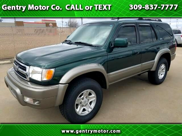 1999 Toyota 4Runner 4DR LIMITED 3.4L AUTO 4WD