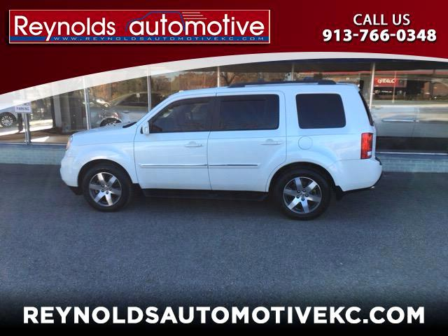 2012 Honda Pilot Touring 4WD 5-Spd AT with DVD