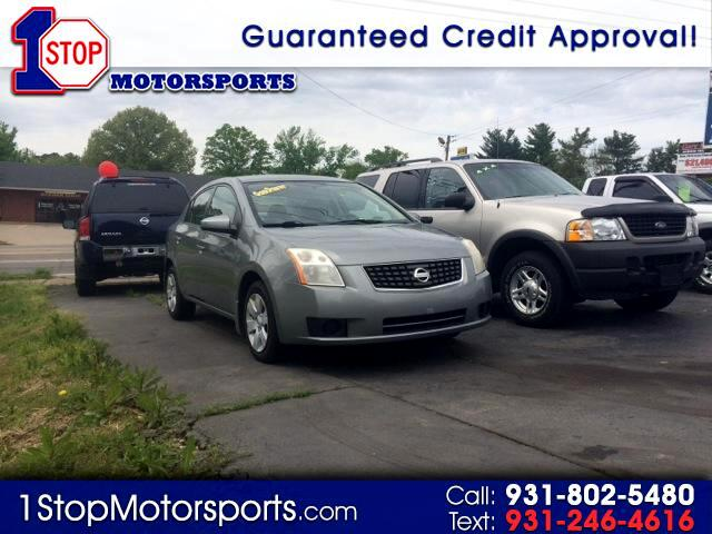 buy here pay here 2007 nissan sentra 2 0 for sale in clarksville tn 37040 1 stop motorsports. Black Bedroom Furniture Sets. Home Design Ideas