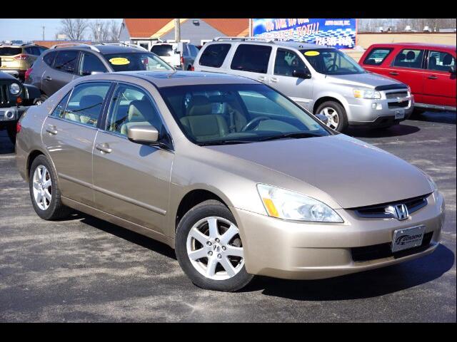 2005 Honda Accord EX V-6 Sedan AT with XM Radio