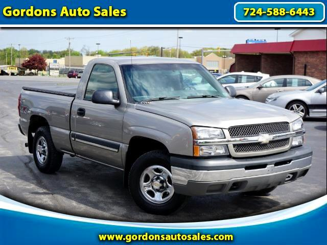 2003 Chevrolet Silverado 1500 Regular Cab 4WD