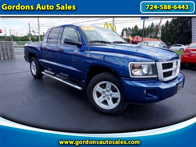 2009 Dodge Dakota Crew Cab  4WD Big Horn