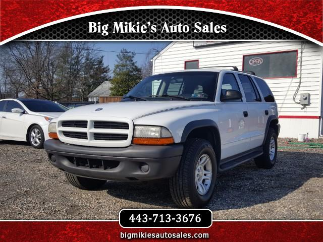 2003 Dodge Durango Give us a call today at 866 370-8253At Big Mikies we treat everyone like fami