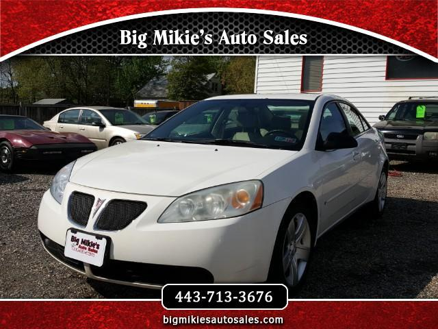 2007 Pontiac G6 Give us a call today at 866 370-8253At Big Mikies we treat everyone like family