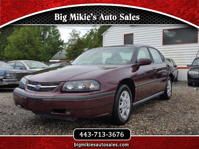 2003 Chevrolet Impala Give us a call today at 866 370-8253At Big Mikies we treat everyone like f