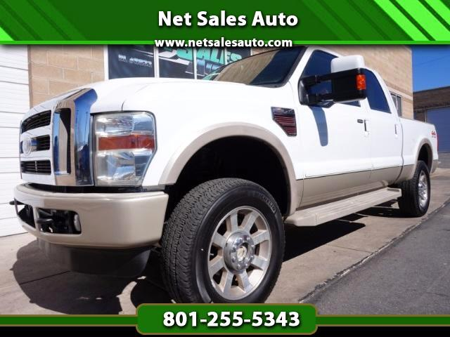2008 Ford F-350 SD King Ranch Crew Cab SRW 4WD
