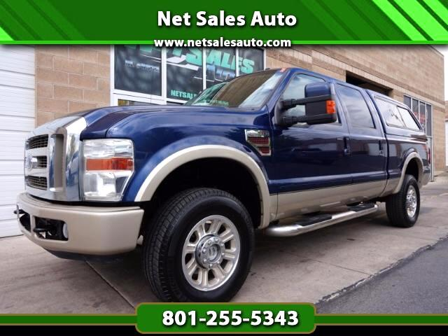 2008 Ford F-350 SD Lariat Crew Cab 4WD King Ranch
