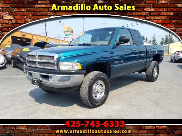 1999 Dodge Ram 2500 SLT Plus Quad Cab Short Bed 4WD