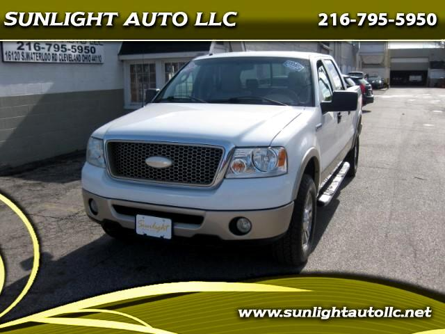 "2007 Ford F-150 4WD SuperCrew 145"" Lariat"