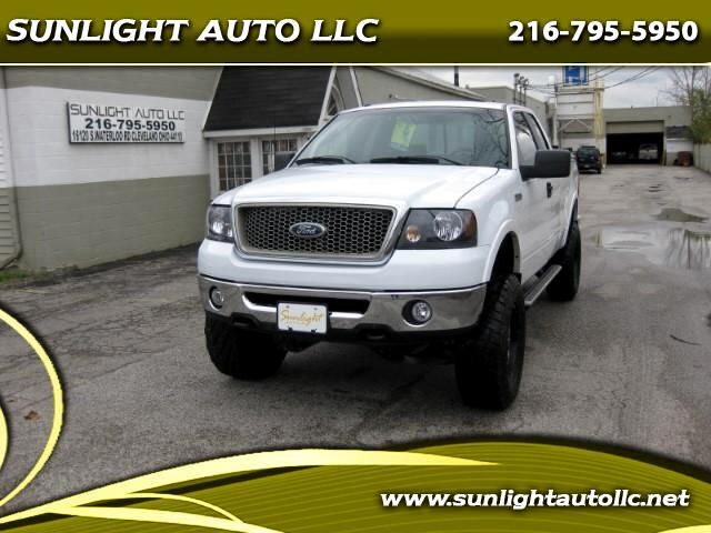 "2007 Ford F-150 4WD SuperCab 145"" Lariat"