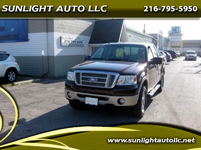 2008 Ford F-150 4WD SuperCrew 150