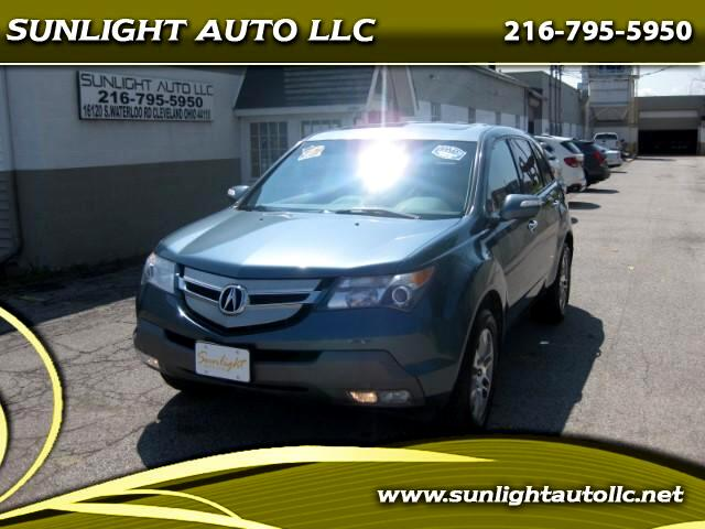 2008 Acura MDX Tech Package with Power Tailgate