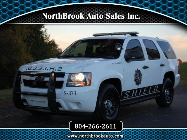 2007 Chevrolet Tahoe 4WD - Police/Special Service