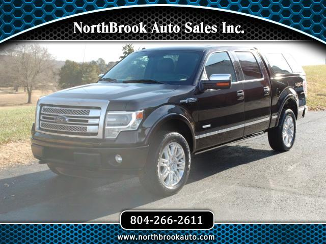 2013 Ford F-150 Platinum SuperCrew 5.5-ft. Bed 4WD