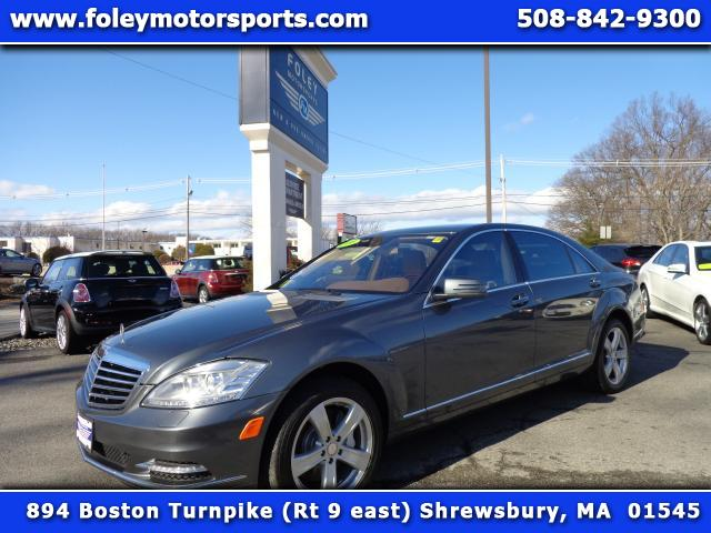 2010 Mercedes S-Class  Air Conditioned Seats Air Conditioning Alarm System Alloy Wheels AMFM