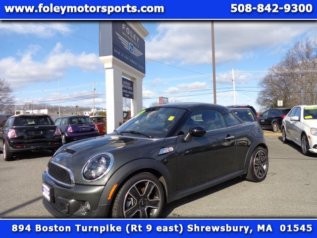 2012 MINI Coupe  Air Conditioning Alarm System Alloy Wheels AMFM Anti-Lock Brakes Automatic H
