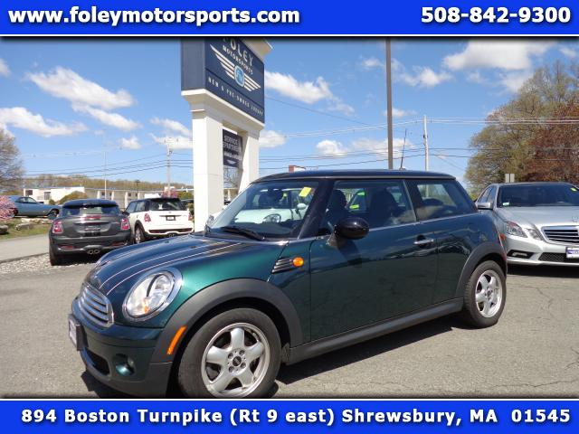 2009 MINI Cooper  Air Conditioning Alarm System Alloy Wheels AMFM Anti-Lock Brakes Automatic