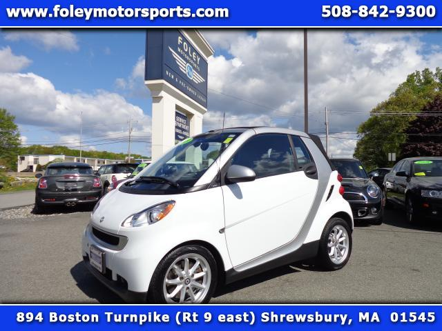 2009 SMART Fortwo  Air Conditioning Alloy Wheels AMFM Anti-Lock Brakes CD CD Changer Driver