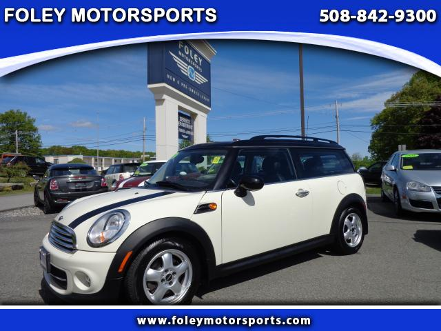 2011 MINI Clubman Base 3dr Wagon Air Conditioning Alarm System Alloy Wheels AMFM Anti-Lock Bra