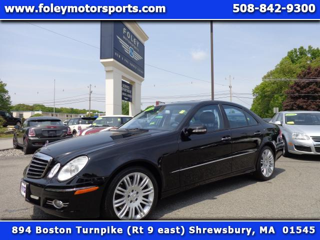 2008 Mercedes E-Class AWD E350 4MATIC 4dr Sedan Air Conditioning Alarm System Alloy Wheels AMFM