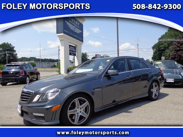 2010 Mercedes E-Class E63 AMG 4dr Sedan Air Conditioned Seats Air Conditioning Alarm System Allo