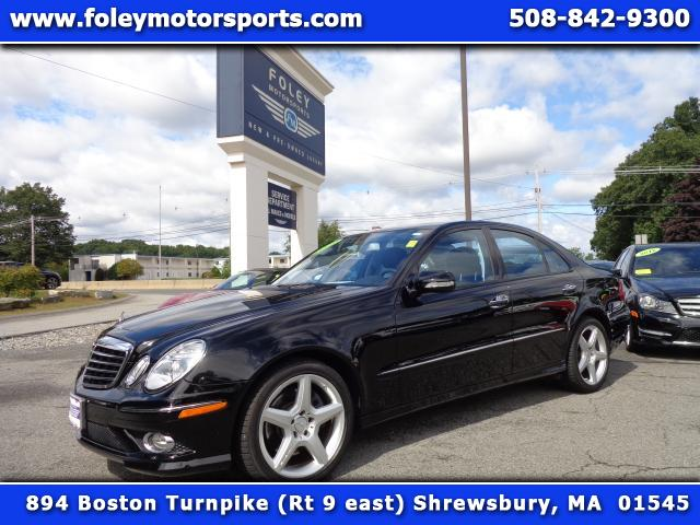 2009 Mercedes E-Class AWD E350 4MATIC 4dr Sedan 4x4 Air Conditioning Alarm System Alloy Wheels