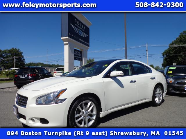 2011 NISSAN Maxima 35 S 4dr Sedan Air Conditioned Seats Air Conditioning Alarm System Alloy Whe