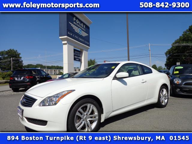 2010 INFINITI G Coupe AWD x 2dr Coupe 4x4 Air Conditioning Alarm System Alloy Wheels AMFM Ant