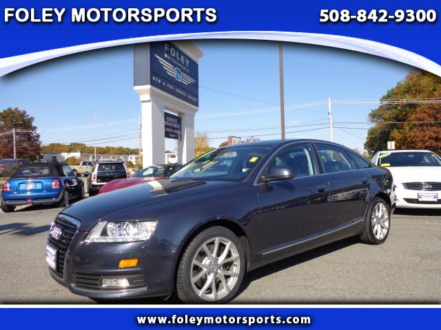 2009 AUDI A6 AWD 30T quattro Premium Plus 4dr Sedan 4x4 Air Conditioning Alarm System Alloy Whe