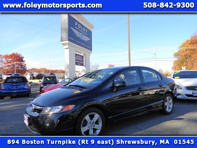 2006 HONDA Civic EX 4dr Sedan wAutomatic Air Conditioning Alarm System Alloy Wheels AMFM Anti