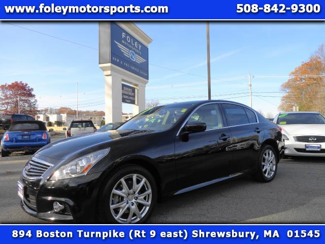 2012 INFINITI G Sedan AWD x 4dr Sedan 4x4 Air Conditioning Alarm System Alloy Wheels AMFM Ant