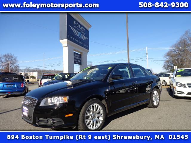 2008 AUDI A4 20T quattro 4dr Sedan AWD 2L I4 6A 4x4 Air Conditioning Alarm System Alloy Wheel