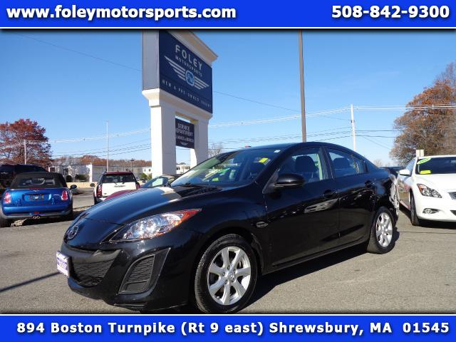 2011 MAZDA MAZDA3 i Touring 4dr Sedan 5M Air Conditioning Alarm System Alloy Wheels AMFM Anti-