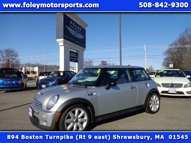 2004 MINI Cooper 2 Dr S Supercharged Hatchback Air Conditioning Alarm System Alloy Wheels AMFM