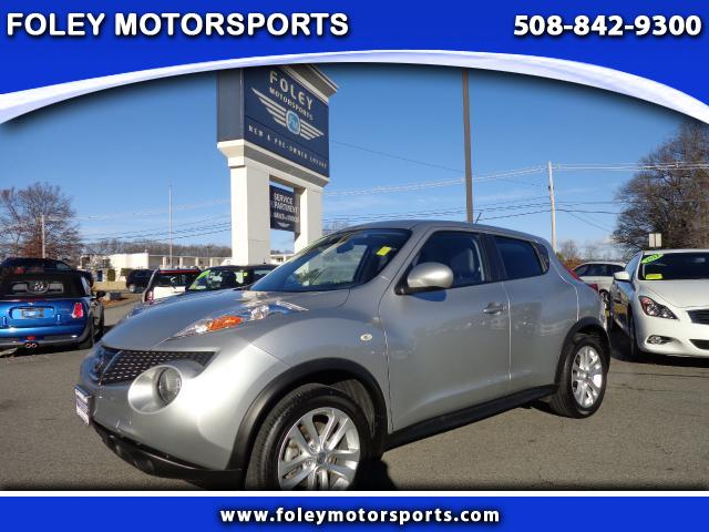 2011 NISSAN Juke AWD S 4dr Crossover 4x4 Air Conditioning Alarm System Alloy Wheels AMFM Anti