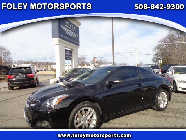 2010 NISSAN Altima 35 SR 2dr Coupe 6M Air Conditioning Alarm System Alloy Wheels AMFM Anti-Lo